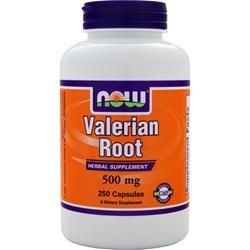 Valerian Root 500mg, 250 kapsułek