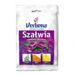 Verbena, cukierki ziołowe z szałwią, 60 g