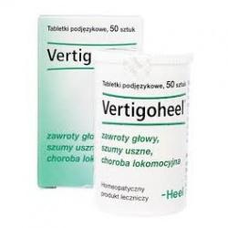 Heel-Vertigoheel, tabletki, 50 szt