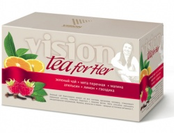 Vision tea for her