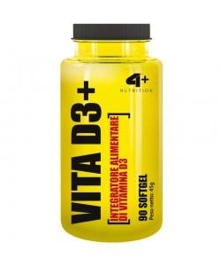 4+ NUTRITION - VITA D3+ - 90kaps