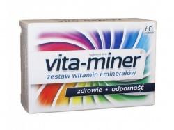 Vita-Miner Zdrowie Odporność 60 drażetek