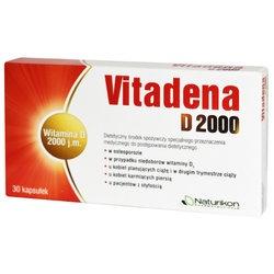 Vitadena D 2000, kapsułki, 30 szt