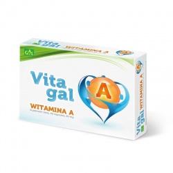 Vitagal Witamina A, 60 kapsułek elastycznych, 90mg