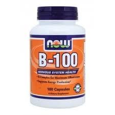 NOW - Vitamin B-100 - 100 kaps