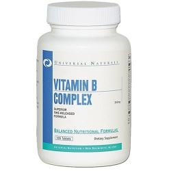 UNIVERSAL NUTRITION - Vitamin B-COMPLEX - 100tab (50mg)