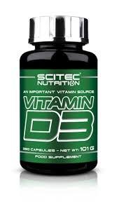 SCITEC - Vitamin D3 - 250caps