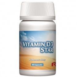 vitamin D3 Star, 60 kaps
