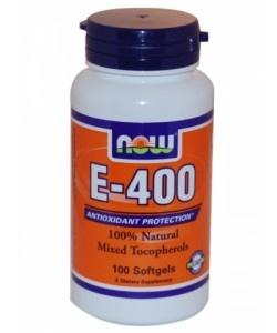 NOW - Vitamin E-400 - 100kaps