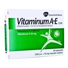 Vitaminum A+E GSK,