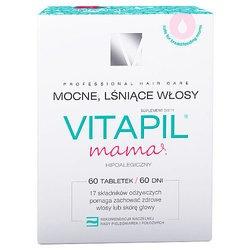 Vitapil Mama, tabletki, mocne, lśniące włosy