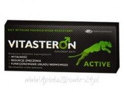 Vitasteron Active, 30 tabletek