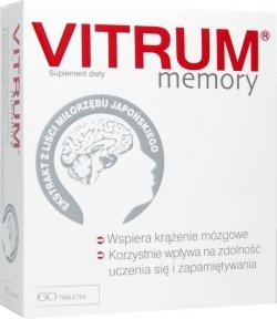 Vitrum Memory, tabletki, 60 szt