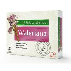 Waleriana, tabletki powlekane, 30 szt
