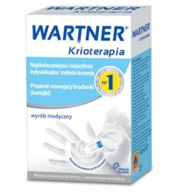 Warter Krioterapia, aerozol do usuwania brodawek, 50ml