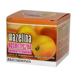 Wazelina kosmetyczna o aromacie brzoskwiniowym, 15 ml (Kosmed)