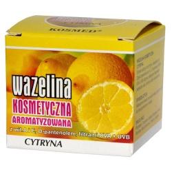 Wazelina kosmetyczna o aromacie cytryny, 15 ml (Kosmed)