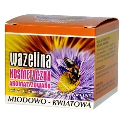 Wazelina kosmetyczna miodowo-kwiatowa, 15 ml (Kosmed)