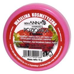 Wazelina kosmetyczna z aloesem i poziomką, 15 g