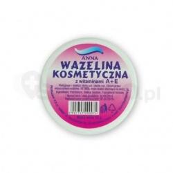 Wazelina kosmetyczna, maść z witaminą A + E, 15 g