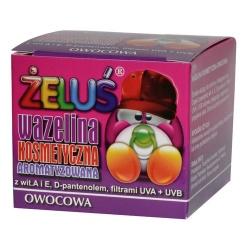 Wazelina kosmetyczna Żeluś owocowa, 15 ml