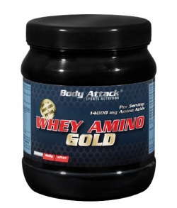BODY ATTACK - Whey Amino Gold - 325tab