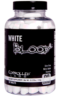 CONTROLLED LABS - White Blood 2 - 90caps