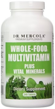 Dr mercola, Whole –Food Multivitamin Plus Vital Minerals, 240 tab