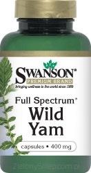 Wild Yam, 60 kapsułek