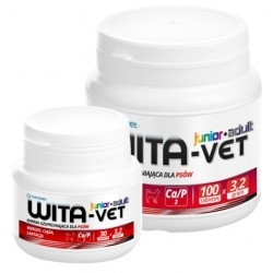 Wita-Vet junior+adult, 30 tabletek