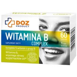 DOZ Product Witamina B Complex, tabletki powlekane, 60 szt