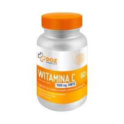 Witamina C 1000mg Forte, 60 tabletek do ssania