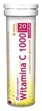 Witamina C 1000mg z błonnikiem, 20 tabletek musujących
