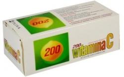 Witamina C monovitan - Acidum ascorbicum - 200 mh, 50 tabletek