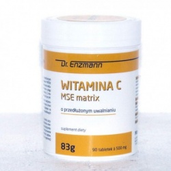 Witamina C MSE matrix, 90 tabletek