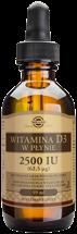 Naturalna witamina D3 w płynie 2500 iu, 59ml