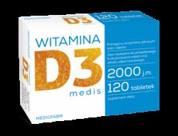 Witamina D3 medis MEDISFARM