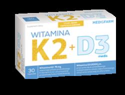 Witamina K2 + D3 medis 30 kapsułek