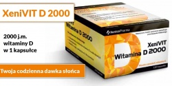 XeniVIT D 2000, 120 kapsułek