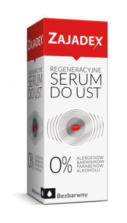 Zajadex, regeneracyjne serum do ust, 10ml
