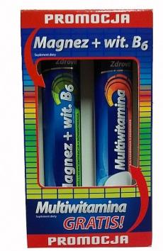 Zdrovit Magnez + Witamina B6 + Multiwitamina GRATIS