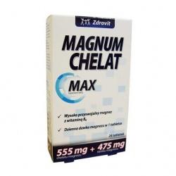 Zdrovit Magnum Chelat Max, tabletki, 28 szt