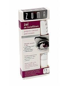 Zuma, żel ze świetlikiem, przeciw cieniom pod oczami, 15 ml