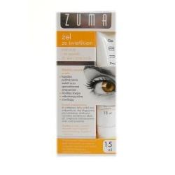Zuma, żel ze świetlikiem, pod oczy, na powieki, skóra zmęczona, 15 ml