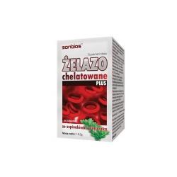 Żelazo chelatowane plus 30 tabletek