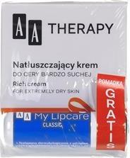 ZESTAW AA Therapy Edycja Jubileuszowa krem + Lipcare pomadka