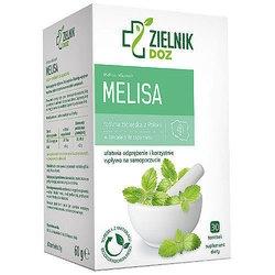 DOZ Zielnik Melisa, zioła do zaparzania, 2 g, 30 saszetek