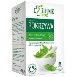 DOZ Zielnik Pokrzywa, zioła do zaparzania, 1,5 g, 30 saszetek