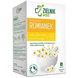DOZ Zielnik Rumianek, zioła do zaparzania 1,5 g, 30 saszetek