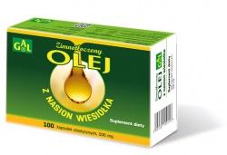 Zimnotłoczony olej z nasion wiesiołka, 100 kapsułek